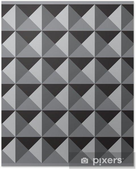 Plakat Wymiar Kolor Czarny Wzór