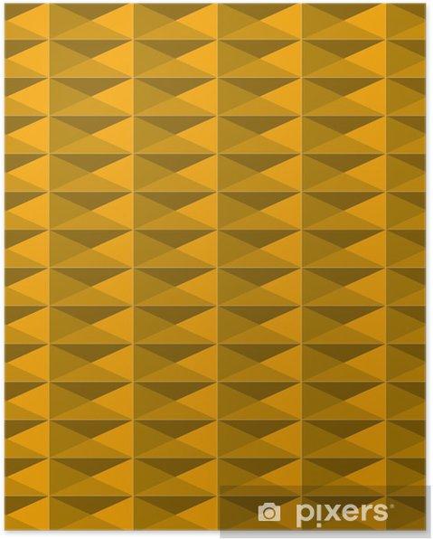 Plakat Wymiar Kolor żółty Wzór