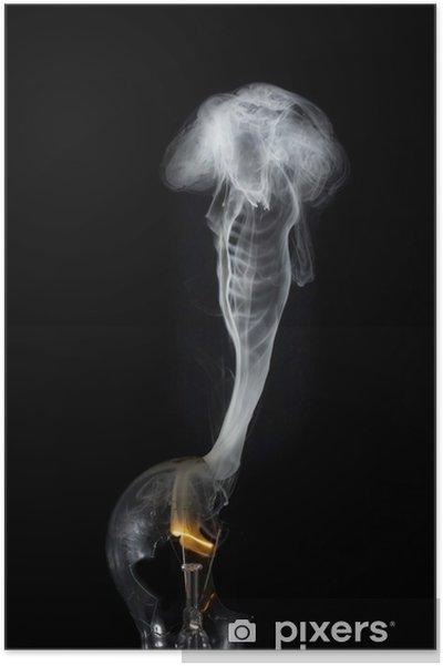 Plakat Wypalić się - Nauki stosowane i ścisłe