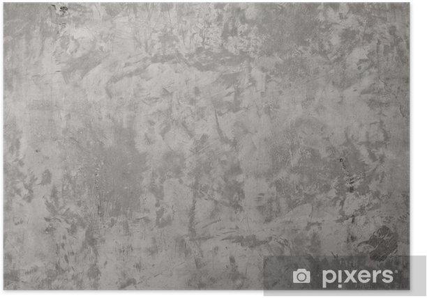 Plakat Wysoka rozdzielczość betonową ścianą - Tematy