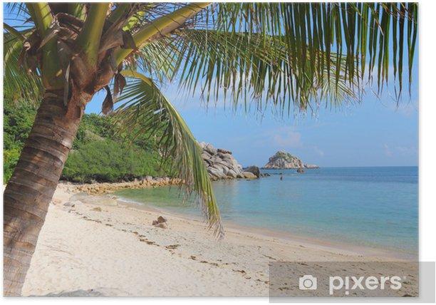 Plakat Wyspa Ko Tao, Tajlandia - Azja