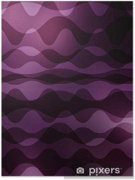Plakat Wzór graficzny - Abstrakcja
