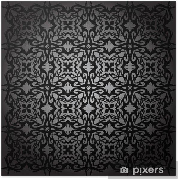Plakat Wzór jest geometria - Tła