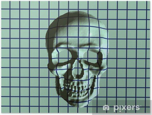 Plakat X-Ray czaszka - Życie