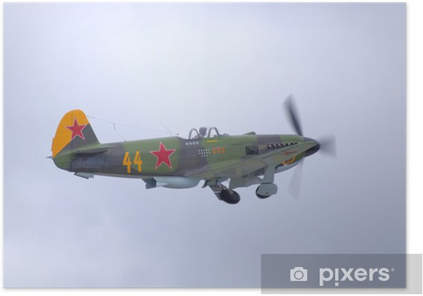 Plakat Yak-3 - Zbrodnie i przemoc