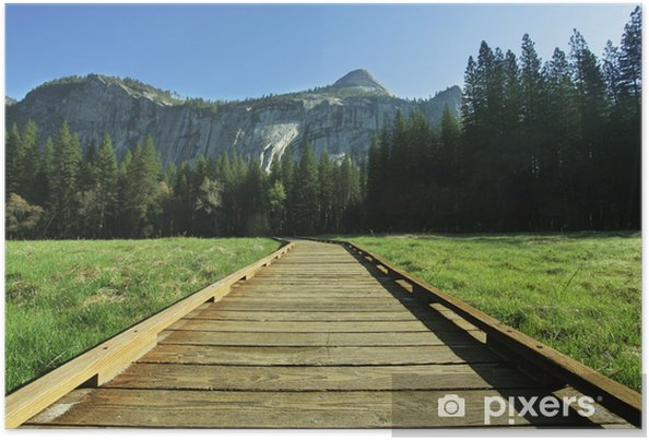 Plakat Yosemite - Góry