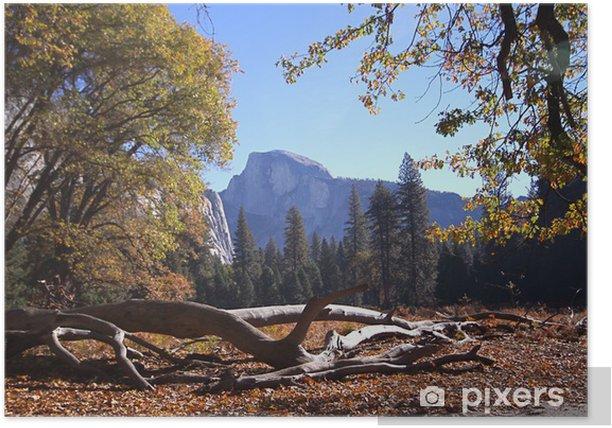 Plakat Yosemite - Ameryka