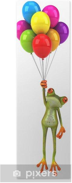 Plakat Żaba zabawy - Znaki i symbole