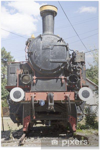Plakat Zabytkowe lokomotywy - Tematy