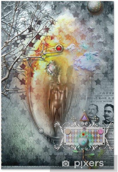 Plakat Zakazane lustro - Ezoteryka