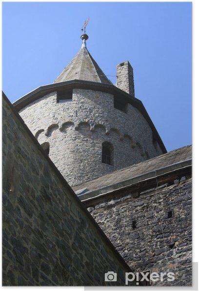 Plakát Zámecká věž - Památky