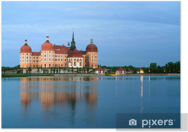 Plakat Zamek myśliwski Moritzburg - Zabytki