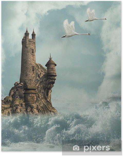 Plakat Zamek - Zamki i pałace