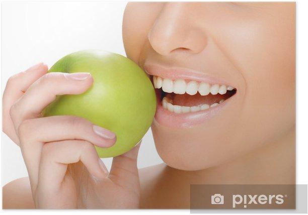 Plakat Zębaty uśmiech - Uroda i pielęgnacja ciała