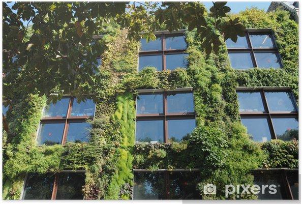 Plakát Zelená stěna Musée du Quai Branly v Paříži - Ekologie