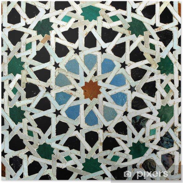 Plakat Zelliges (Fes, Maroko) - Państwa