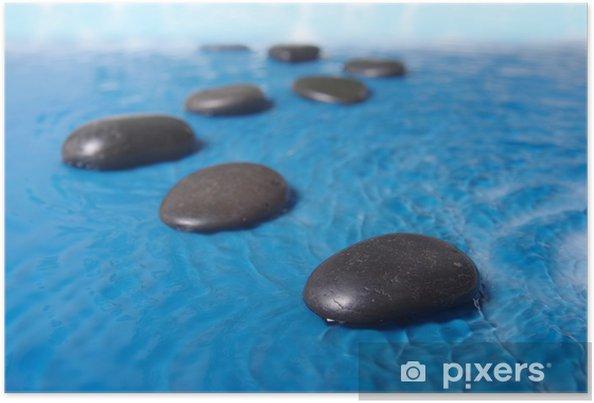 Plakát Zen kameny ve vodě - Témata