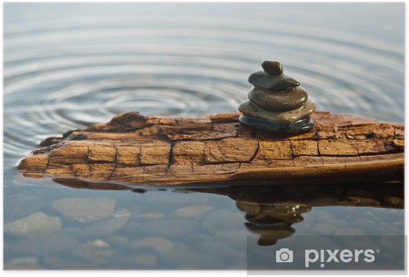 Plakat Zen Moment - Dom i ogród