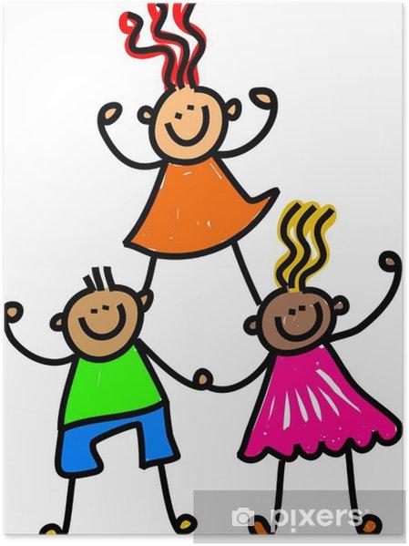Plakat Zespół Happy Kids - Inne uczucia