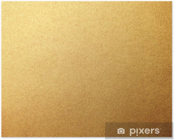 Plakat Złote tło - Tekstury