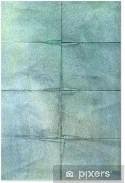 Plakát Zmačkaný ročník papírové pozadí - Pohlednice