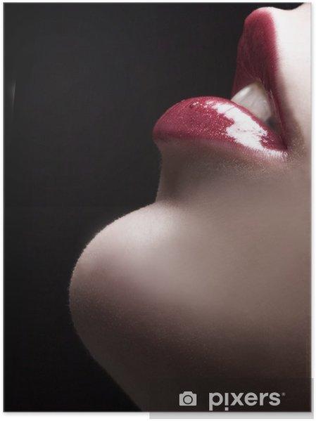 Plakat Zmysłowe usta - Tematy