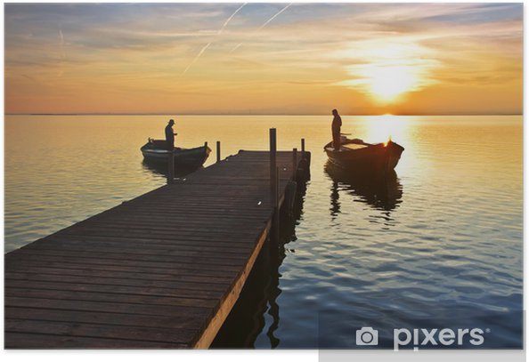 Plakat Życie na jeziorze - Tematy