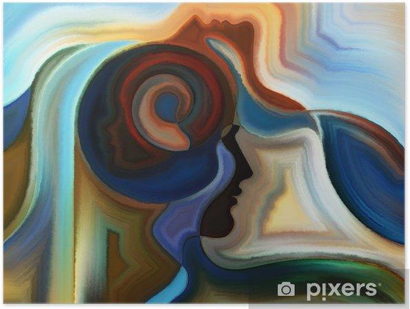 Plakat Żywe Farba Wewnętrzna - Sztuka i twórczość