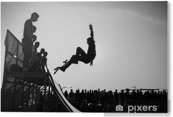 Plexiglas Print Jump - Skateboarding