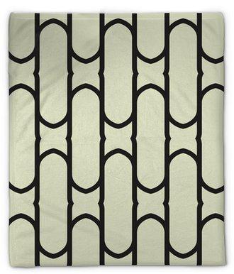 Pluche deken Abstract geometrische naadloze patroon achtergrond