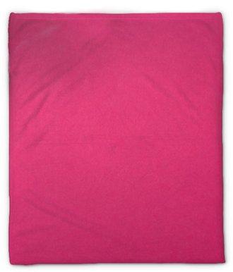 Pluche deken Helder roze papier textuur achtergrond