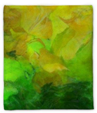 Plüschdecke Bunte abstrakte Malerei