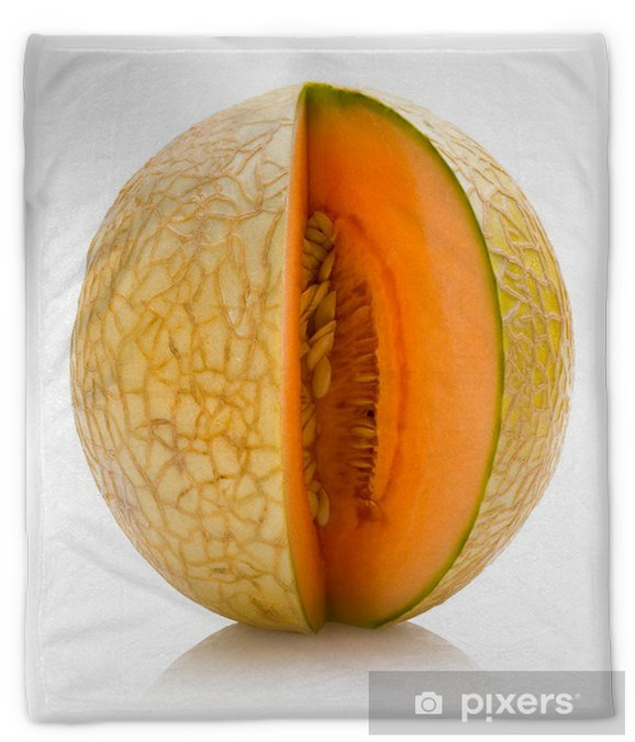 Cantaloupe Melon Plush Blanket Pixers We Live To Change The strange patterns on a cantaloupe may as well be a map of pluto for many shoppers. pixers