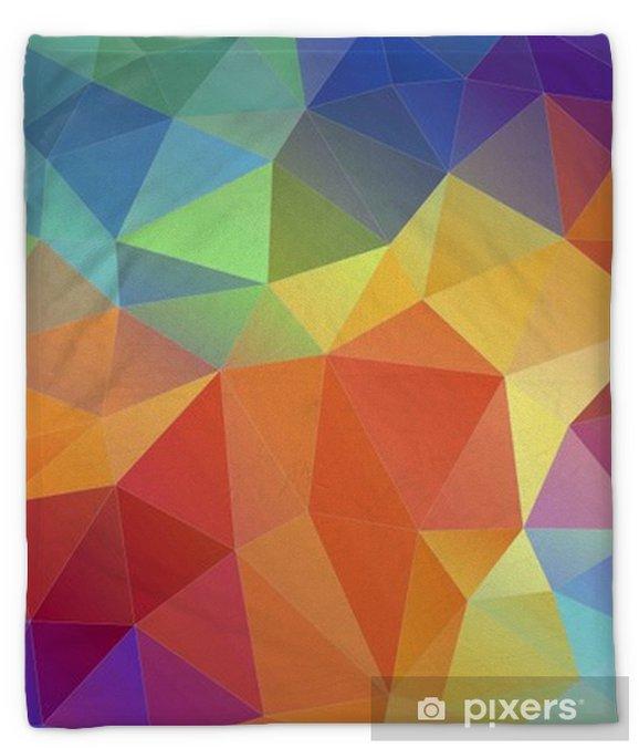 plush blankets flat triangle multicolor geometric triangle wallpaper