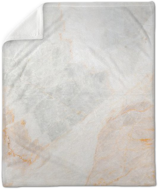 Seamless Soft Beige Marble Texture Plush Blanket
