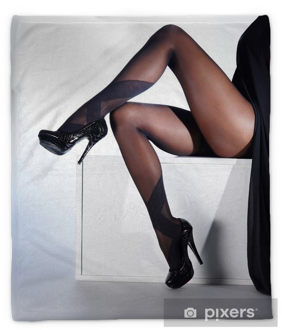 Mature High Heels Stockings