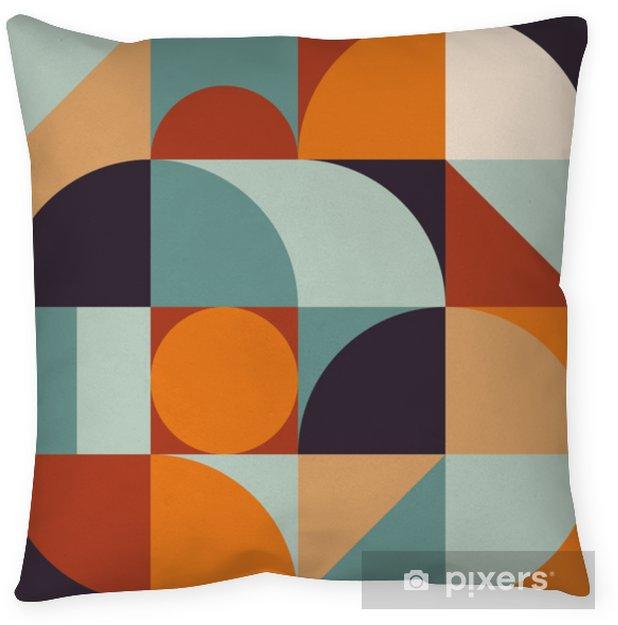 Poduszka dekoracyjna Abstrakcyjna geometria wzór graficzny 12 - Zasoby graficzne