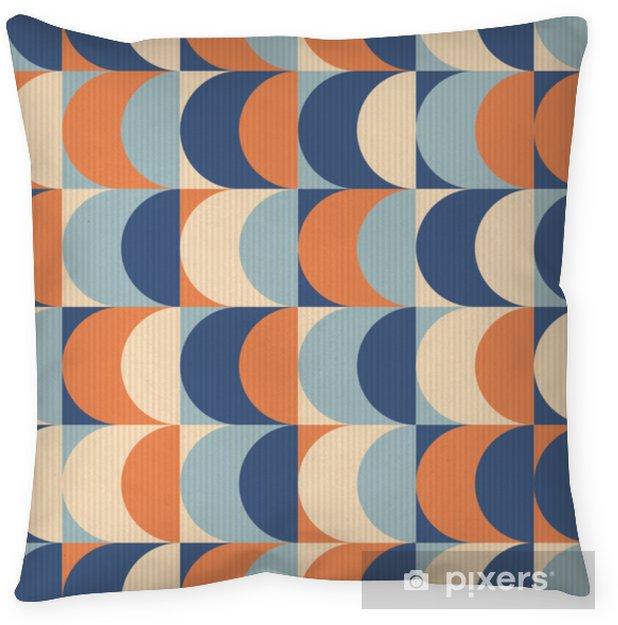 Poduszka dekoracyjna Bez szwu vintage wzór geometryczny - Zasoby graficzne