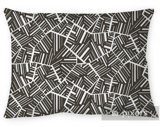 Poduszka dekoracyjna Geometryczne abstrakcyjne bez szwu motywu tła. Kolorowy - Tła