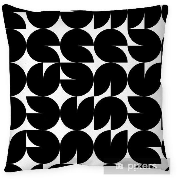 Poduszka dekoracyjna Geometrycznych bez szwu mozaiki wzór, wektor - Inne uczucia