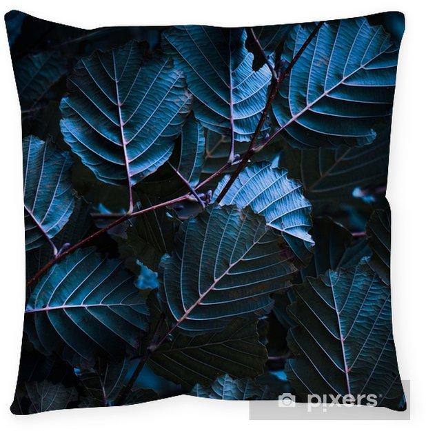 Poduszka dekoracyjna Kolorowe liście - Rośliny i kwiaty
