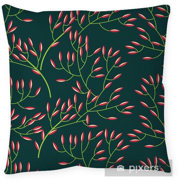 Poduszka dekoracyjna Kwiatowy tekstury - Tła