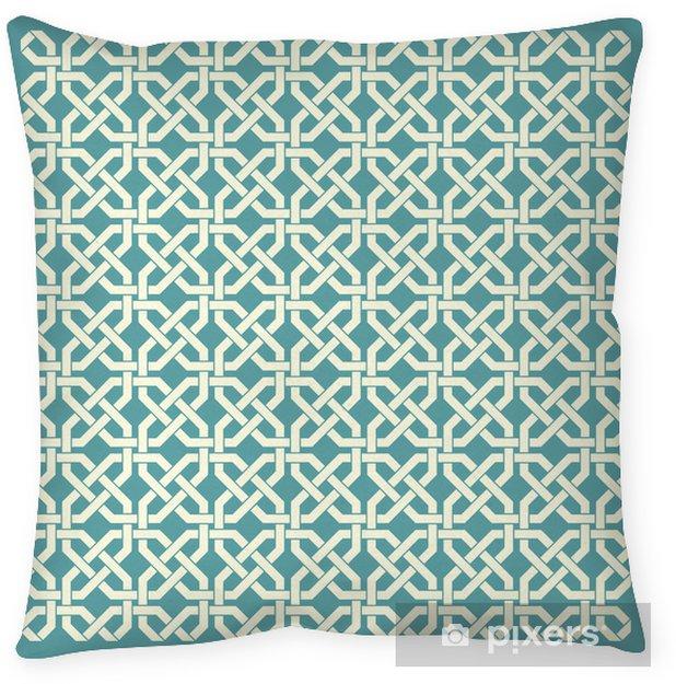 Poduszka dekoracyjna Retro geometryczny szwu - Tła