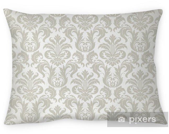 Poduszka dekoracyjna Wektor powtarzalne kwiatowy wzór adamaszek - Tematy