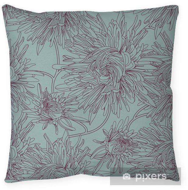 Poduszka dekoracyjna Wektor powtarzalne tekstury - Tła