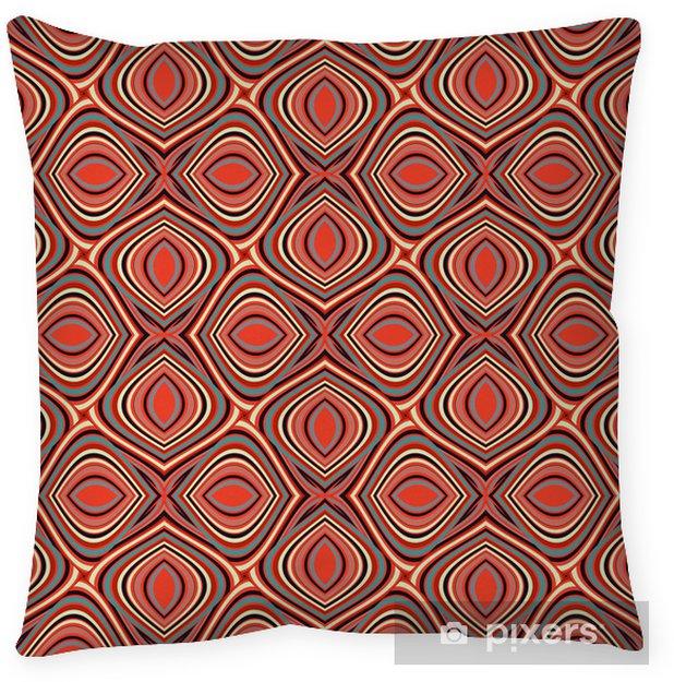 Poduszka dekoracyjna Wzór bezszwowy - Tła
