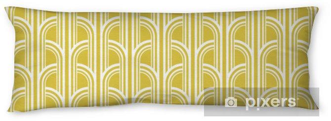 Poduszka relaksacyjna Bez szwu vintage wzór geometryczny - Zasoby graficzne