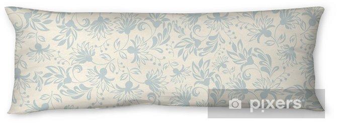 Poduszka relaksacyjna Jednolite tło z beżowymi ozdoby - Zasoby graficzne