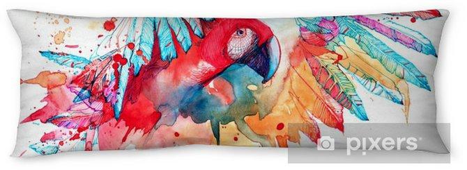 Poduszka relaksacyjna Papuga - Zwierzęta