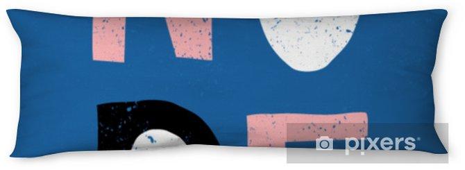 Poduszka relaksacyjna Projekt retro typograficzne nope - Zasoby graficzne
